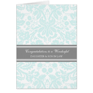 Daughter & Son In Law Wedding Congratulations Sky Greeting Card