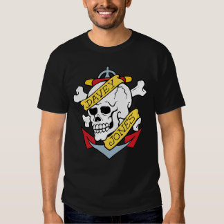 Davey Jones Tattoo Shirts