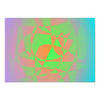 Dawn of the New Era 13 Cm X 18 Cm Invitation Card