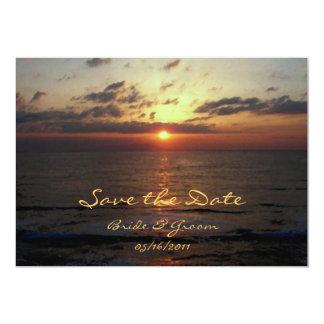 Dawning/ Save the Date 13 Cm X 18 Cm Invitation Card