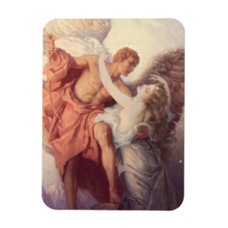 Day and the Dawnstar Rectangular Photo Magnet