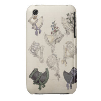 Day bonnets, fashion plate from Ackermann's Reposi iPhone 3 Case