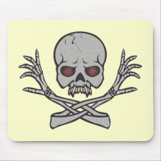 Day of the Dead Skull Mouse Pad