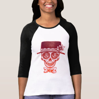 Day of the Dead Sugar Skull with Hat Shirts