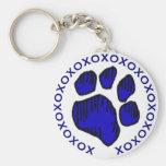 DD's I Love My Dog!! Keychain