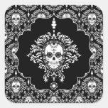 Dead Damask - Framed Sugar Skull Stickers