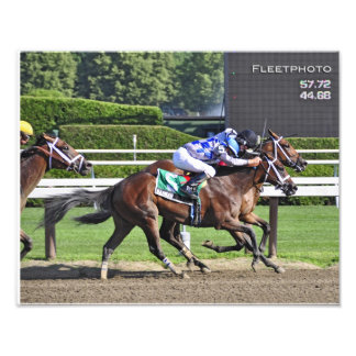 Dead Heat in the 95th. Schuylerville Stakes Photo Art