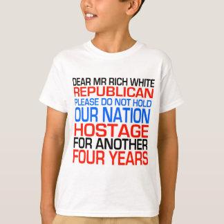 Dear Mr Rich White Republican Shirt