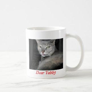Dear Tabby Basic White Mug