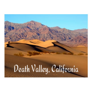 Death Valley National Park, California Postcard