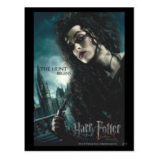 Deathly Hallows - Bellatrix Lestrange 2 Postcard