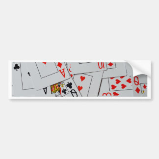 Deck_Of_Cards,_ Bumper Sticker
