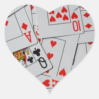Deck_Of_Cards,_ Heart Sticker