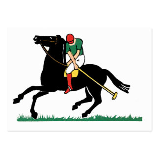 Deco Horse Polo Business Cards