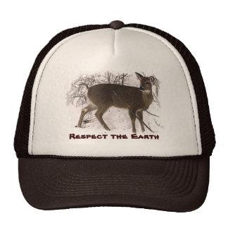 Deer in Snow - Earth Day Cap