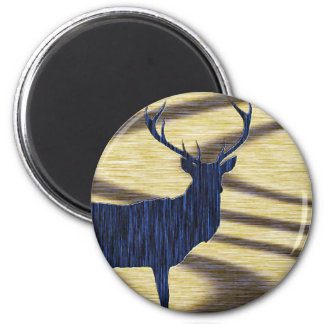 Deer Search 6 Cm Round Magnet