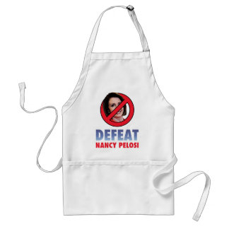 Defeat Nancy Pelosi Standard Apron