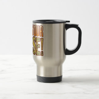 Defend Your Blue Cheese Stainless Steel Travel Mug