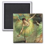 Degas - Dancer Tilting Square Magnet
