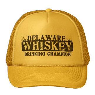 Delaware Whiskey Drinking Champion Cap