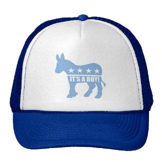 democrat it's a boy caps cap
