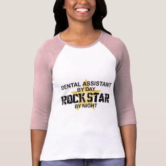 Dental Assistant Rock Star T Shirt