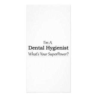 Dental Hygienist Customised Photo Card