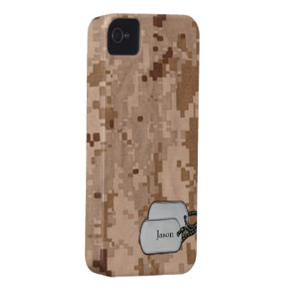 Desert Digital  Military Camouflage iPhone 4 Cover