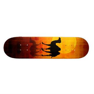 Desert Walk by Gery Sher 21.6 Cm Skateboard Deck