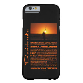Desiderata Poem Kite Surfer Barely There iPhone 6 Case