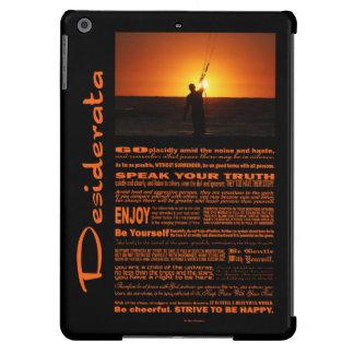 Desiderata Poem Kite Surfer iPad Air Cover