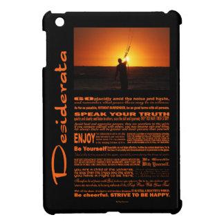 Desiderata Poem Kite Surfer iPad Mini Covers