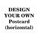 Design Your Own Postcard (horizontal)