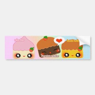 Dessert Luv Bumper Sticker
