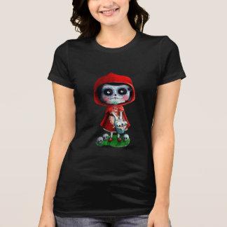 Dia de los Muertos Little Red Riding Hood T-shirts