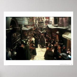 Diagon Alley Poster