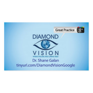 Diamond Vision Pack Of Standard Business Cards