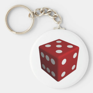 Die Basic Round Button Key Ring
