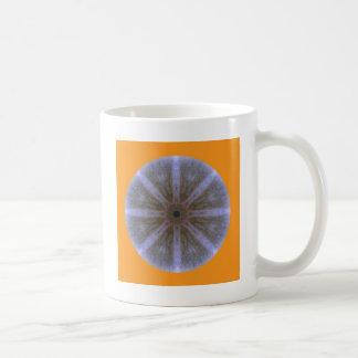 different cups - Blüten-Mandala-1 Basic White Mug