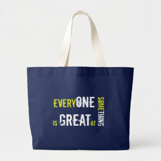 Differently Abled, Autism, Special Education Jumbo Tote Bag
