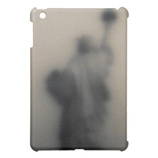 Diffused image of the Statue of Liberty iPad Mini Case