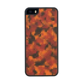 Digital Autumn Foliage Camo Wood iPhone SE/5/5s Case