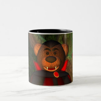 Dinky Bears Little Dracula Two-Tone Mug