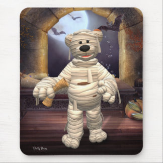 Dinky Bears Little Mummy Mouse Pad