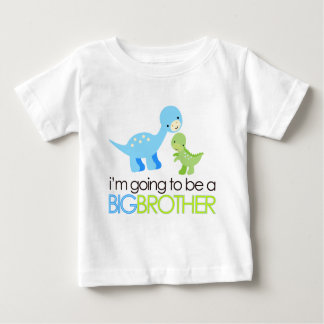 Dinosaur I'm Going to Be A Big Brother Tshirts