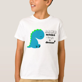 Dinosaur Rawr T-shirt for Kids