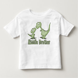 Dinosaurs Middle Brother Shirt