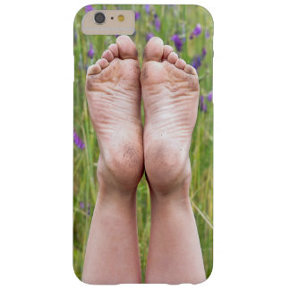 dirty bare feet in wildflowers barely there iPhone 6 plus case