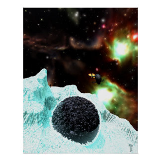 """Discovery in Deep Freeze  (22"""" x 28"""") Art Print"""