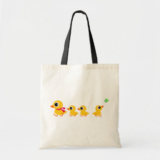 Distracted Duck Budget Tote Bag